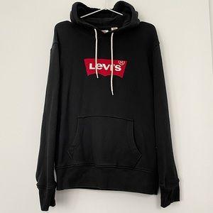 Levis Logo Pullover Black Hoodie